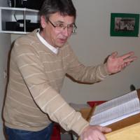 Horst Bittel bei seiner Rede