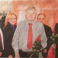 vl: Hans-Jörg Seidl, MdL Alexandra Hiersemann, Richard Schleicher, Norbert Geier, Malte Magold